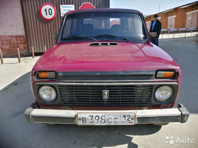 Купить ВАЗ (LADA) 4x4 (Нива) пробег 189 000.00 км 2002 год выпуска