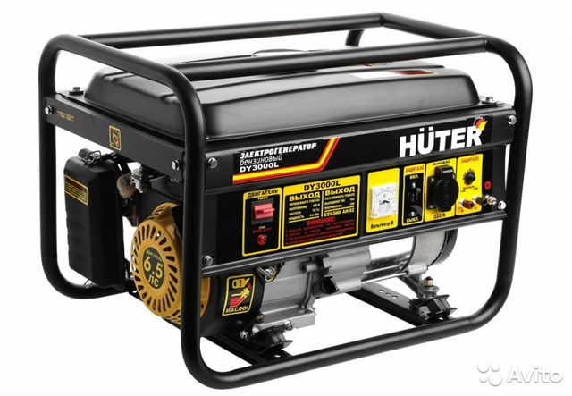 Bensin generator -Huter-2,5-2.8 kW