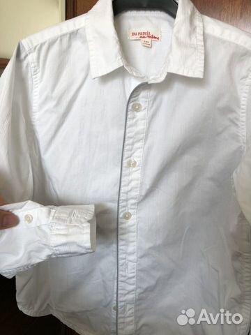 Рубашка белая, Dpam, р.116 89021767780 купить 1