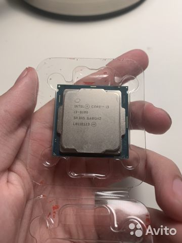 Процессор Intel Core i3-8100 Coffee Lake— фотография №1