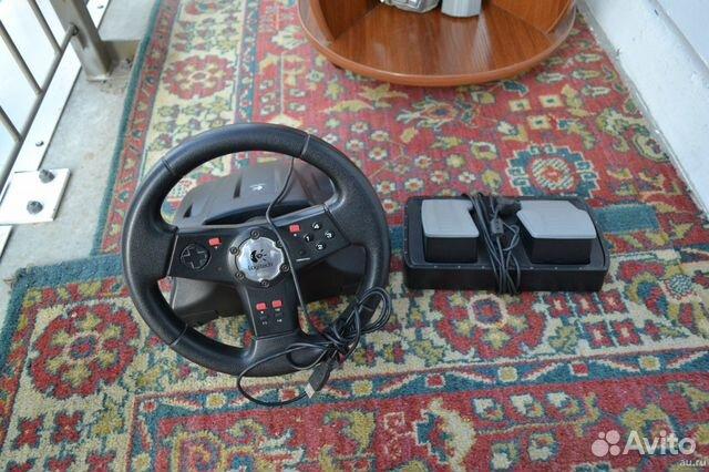 Руль с педалями Logitech 89235982756 купить 1
