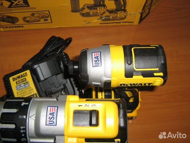 Новый набор шуруповертов Dewalt DCK299M2 США 89134329120 купить 4