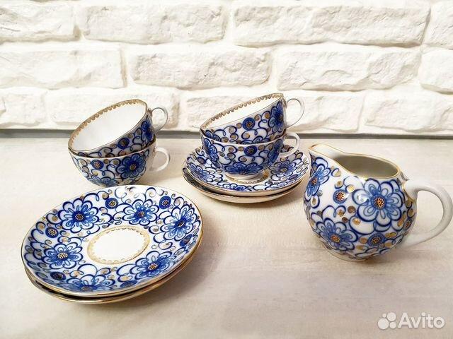 Чайный сервиз Императорский фарфор 89114895040 купить 1