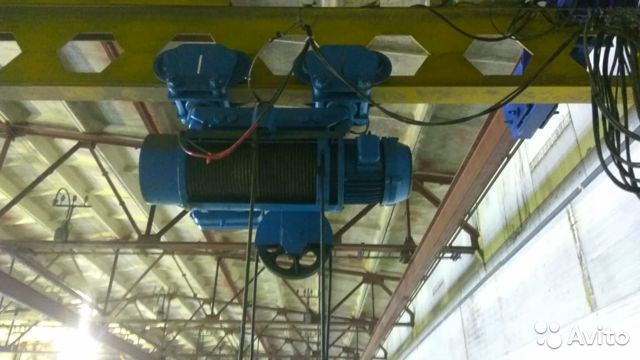 The hoist 10t, 9M (Bulgarian) buy 6