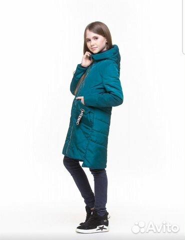 Демисезонное пальто 152-158 89206265449 купить 3