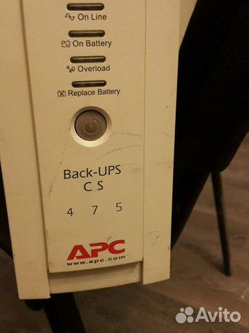 Ибп 475 и 500 apc back ups  купить 4