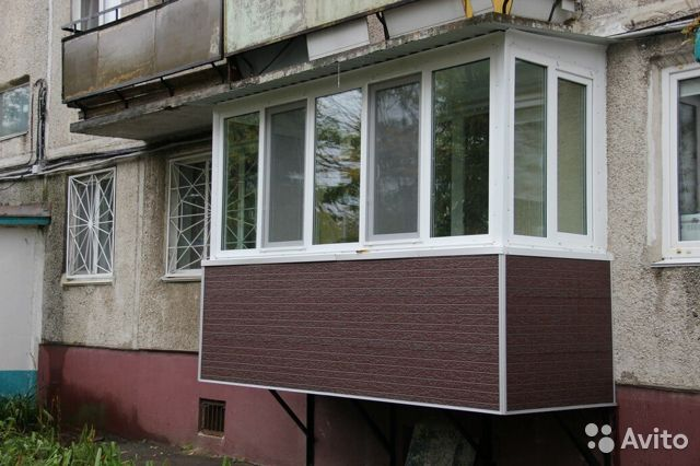 Балкон 3.13 м с отделкой 89339320302 купить 1