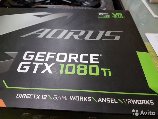 Видеокарта GTX-1080ti 11gb. aorus  89063137454 купить 10