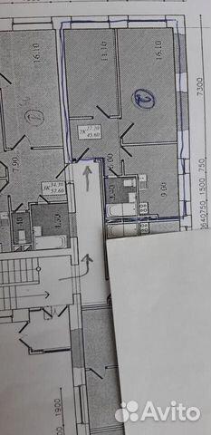 2-к квартира, 46 м², 2/2 эт. купить 1