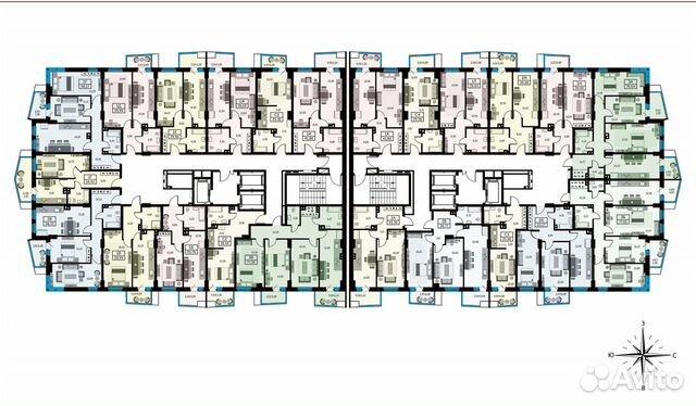 1-к квартира, 39.7 м², 11/26 эт. купить 10
