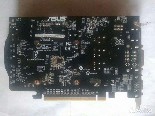 Видеокарта Asus GTX 750Ti 2gb (требует ремонта)  89532737395 купить 2