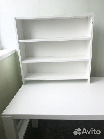 Письменный стол икеа Поль 128х58 см «растущий»  89242273066 купить 2