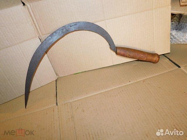 Старинный,иностранный серп,деревенский инструмент  89065103360 купить 7