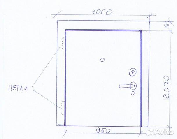 Двеpь металличeская с замкaми. Доставка  89535462889 купить 3