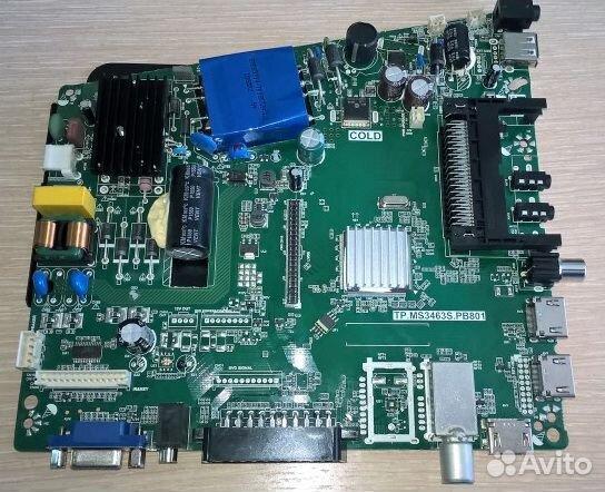 Tp.ms3463s.pb801 осн плата телевизора 32led38t2p