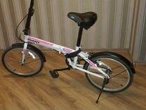 Велосипед раскладной металлическая рама