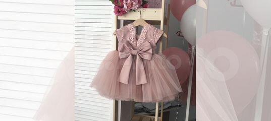 5a8dca96a7d Детское нарядное платье на годик купить в Челябинской области на Avito —  Объявления на сайте Авито