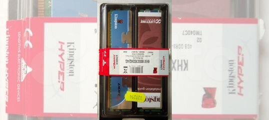 DDR3 Kingston HyperX 4Гб (KHX1800C9D3K2)