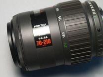 Pentax AF 70-210/4-5.6 smc — Фототехника в Москве