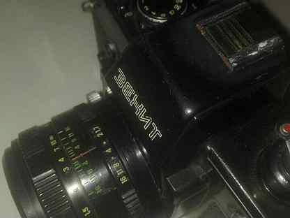 Плёночный фотоаппарат Зенит 19