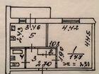 1-к квартира, 34.3 м², 1/9 эт. объявление продам