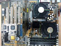 Asus CUV4X-D + 2шт piii-933MHz +512MB sdram