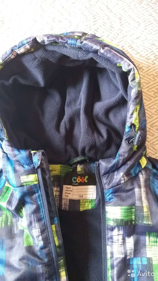 Куртка теплая демисезон  89059161204 купить 6