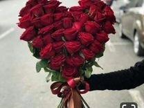 Роза Эквадор, Кения. Букет из 25 роз. Букет гигант — Растения в Рязани