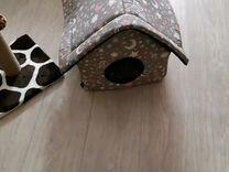 Домик и когтеточка для кошек, котов Новое