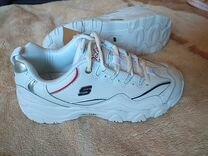 Кроссовки скетчерс skechers белые
