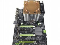 X79T + 16Gb + E5-2689(8яд-16пт) + Кулер