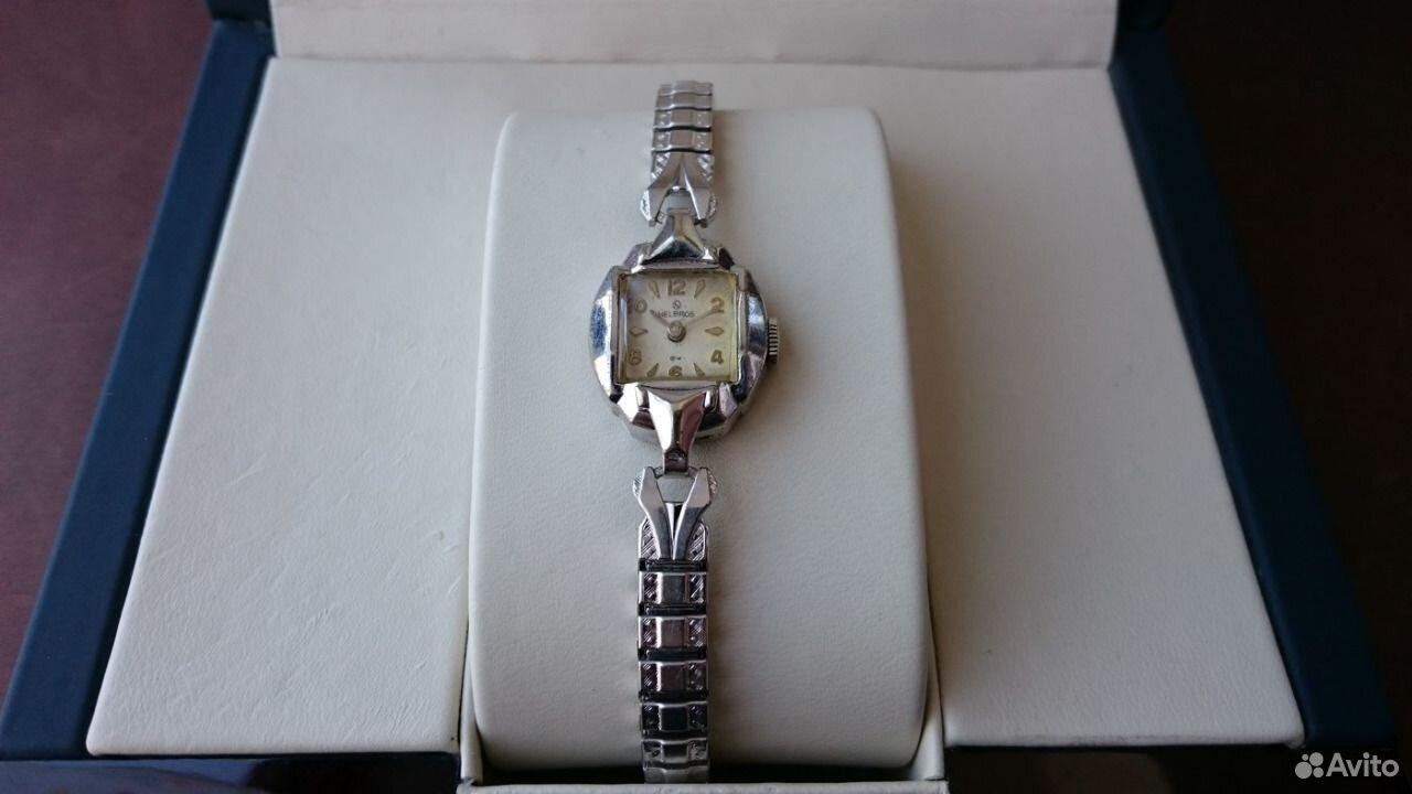 89525003388  Дамские наручные часы Helbros Germany Винтаж
