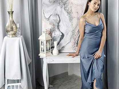 Платья-комбинации в бельевом стиле alisia HIT шелк