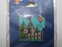 Значок олимпиада Солт Лейк Сити 2002