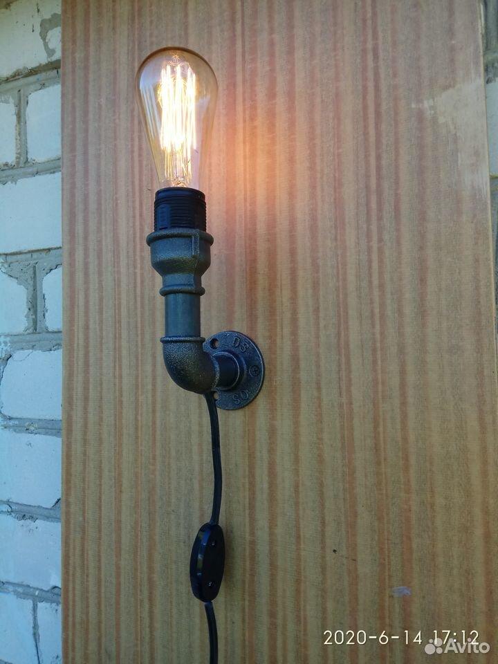 Настенный светильник (бра) в стиле Лофт  89510989100 купить 2