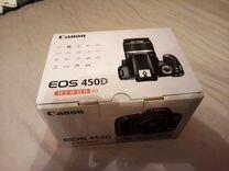 Коробка от canon 450d