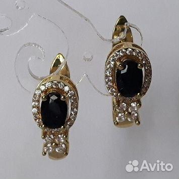Серьги с драгоценными камнями  89112231871 купить 8