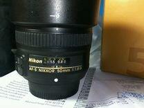 Объектив Nikon 50mm 1.8G