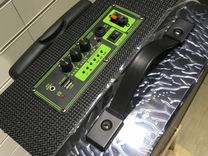 Аудио система аккумулятор A10 2 колонка караоке
