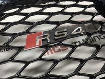 Решетка радиатора audu A4 в стиле RS 4 B8 кузоа