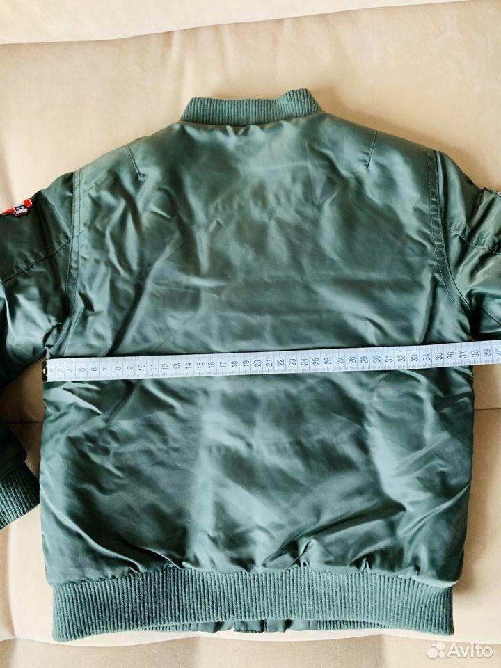 Бомбер р.116 демисезон (куртка утепленная)  89875129176 купить 4