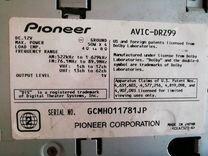 Магнитола Pioneer carrozzeria avic drz 99
