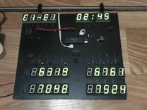 Электронное программируемое табло (Схема)