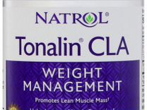 Жиросжигатели Natrol Tonalin CLA 1200 мг. 60 гел