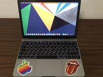 Macbook 12 2016 Space Gray на гарантии