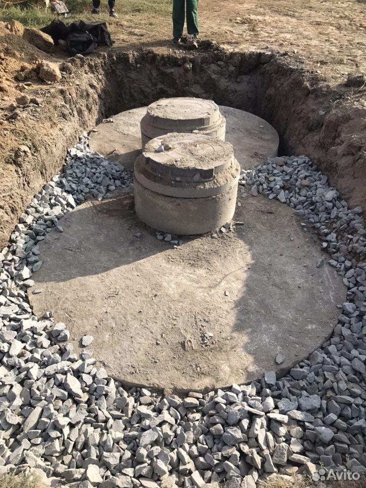 Септик из бетонных колец  89185315199 купить 1