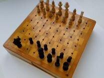 Шахматы дорожные походные деревянные СССР