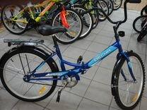 Новый дорожный складной велосипед с доставкой