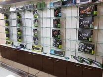 Большой выбор видеокарт, обмен на вашу карту — Товары для компьютера в Брянске
