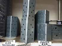 Крепежный уголок усиленный KUU-105х105х90х2мм